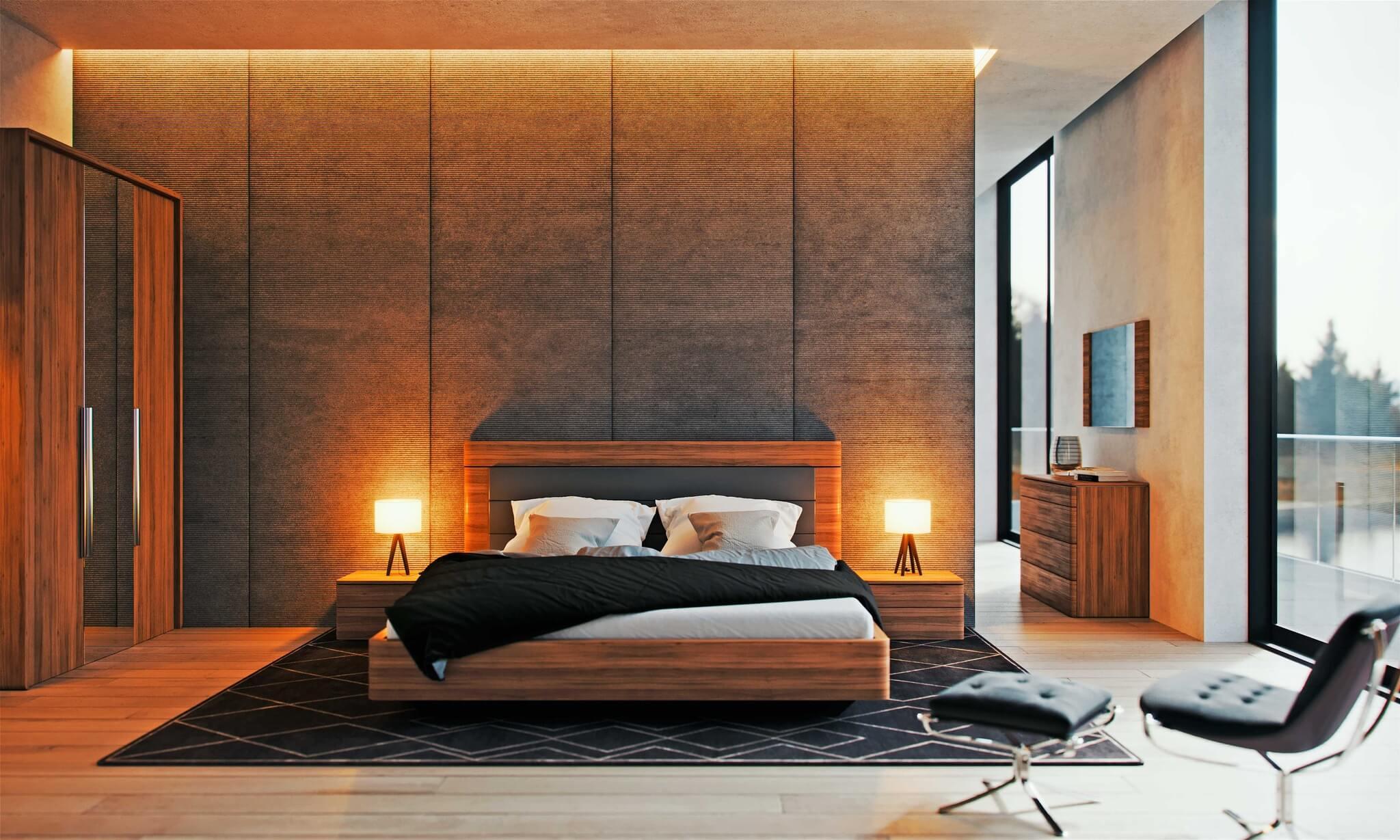 Спальная мебель в современном стиле