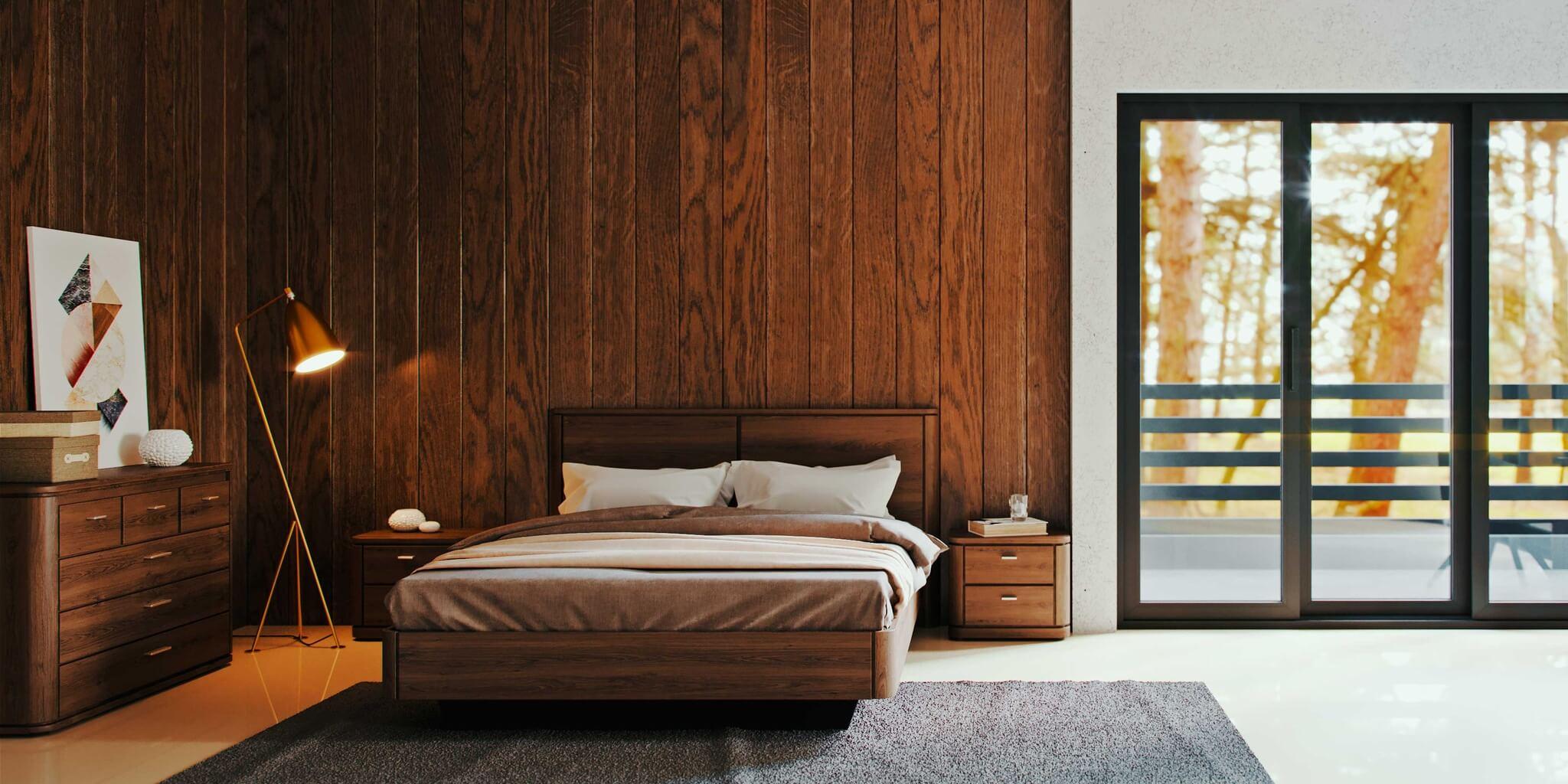Фото дизайна спальни в современном стиле